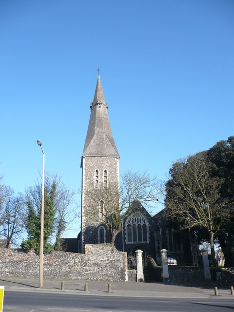 The parish church of St. John the Baptist, Margate