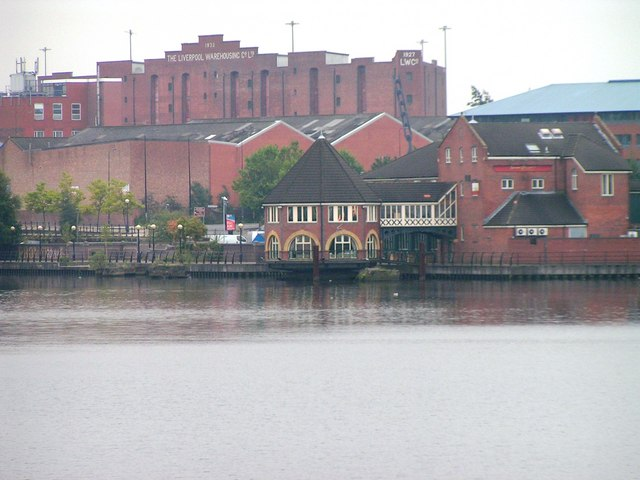 Mouth of the River Irwell, Salford Quays