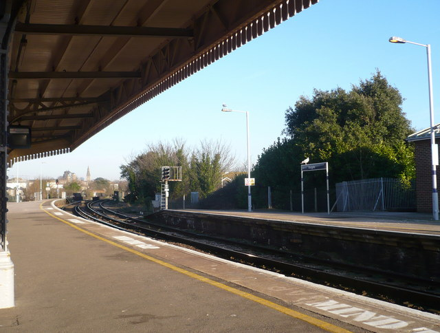 Waiting on platform 3 for the train from Ramsgate