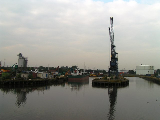 Manchester Docks from Ship Canal