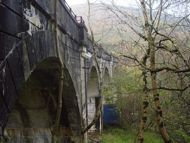 Old railway bridge at Lochearnhead