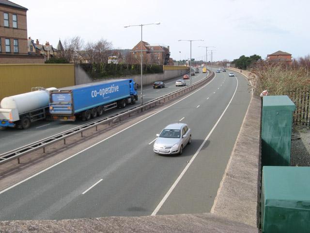 A55 Expressway in Colwyn Bay 2