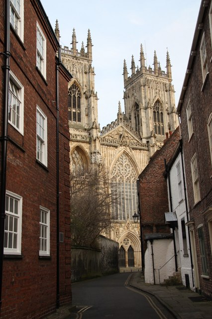 York Minster from Precentor's Court