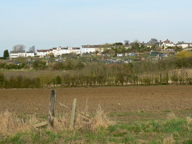 Western edge of Wootton Bassett