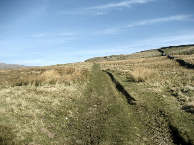 Track leading to Starbotton Peat Ground