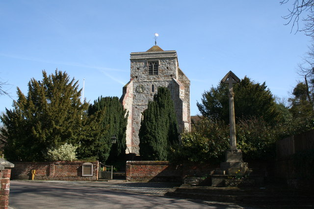 Parish Church of St. John Baptist, Puttenham, Surrey