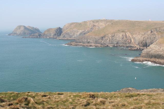 The coastline north of Ligger Point