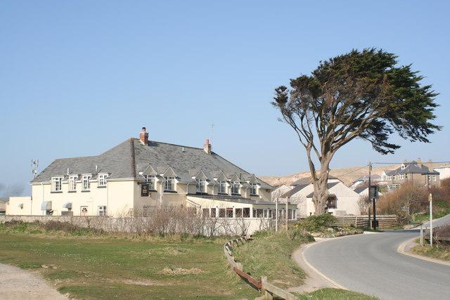 The St Piran's Inn at Holywell Bay