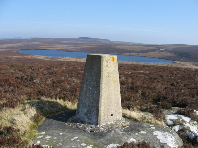 Trig point on Darden Pike