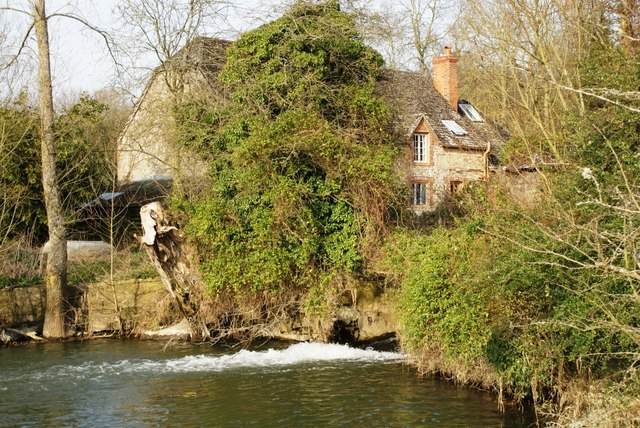 Watermill and mill pond at Coleshill