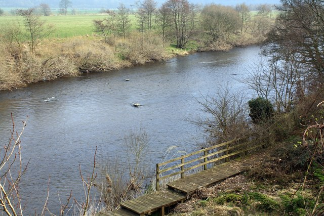 The River Esk from Hollinhurst