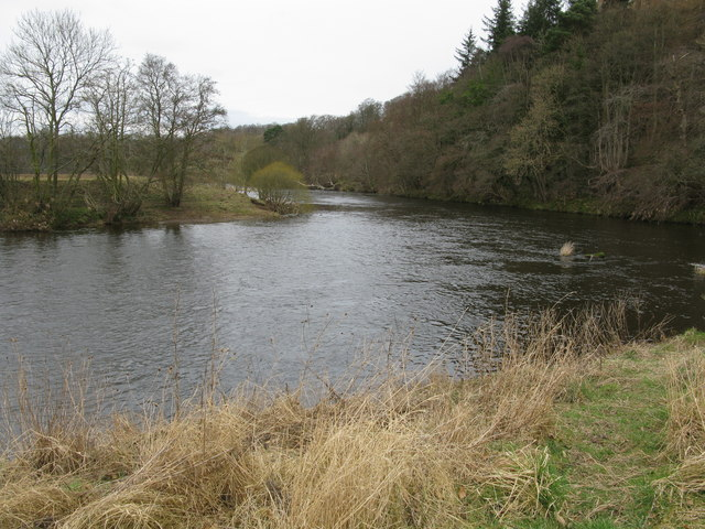 Bend on the River Clyde