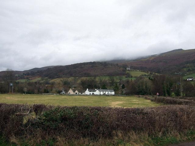Felindre across the fields