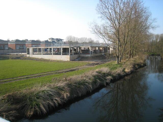 Development at Pottertons' site