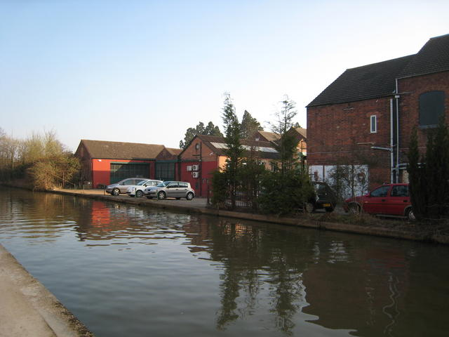 Grand Union Canal wharf