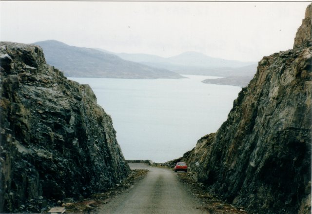 New road looking at Loch Seaforth