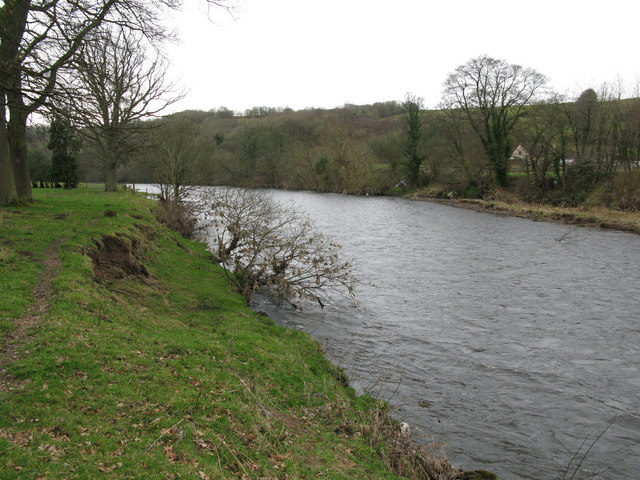 River Clyde up river from Rosebank