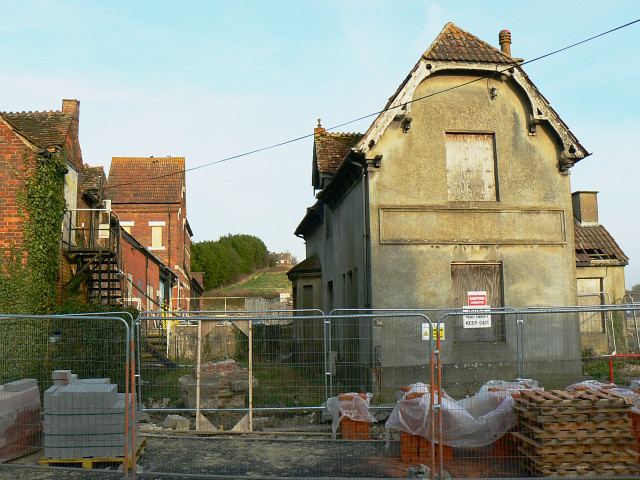 The remains of the Beaufort Brewery, Station Road, Wootton Bassett