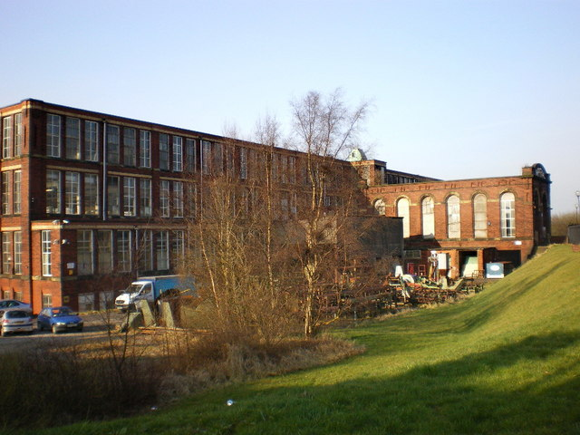 Rear view of Imperial Mill