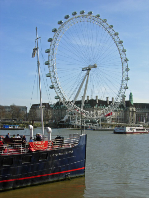 Tattershall Castle and the London Eye