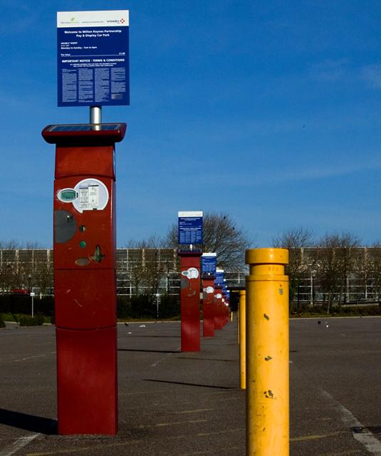 Milton Keynes car park