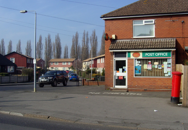 East Common Lane Post Office, Scunthorpe