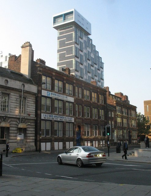The dramatic Unity Development off Chapel Street