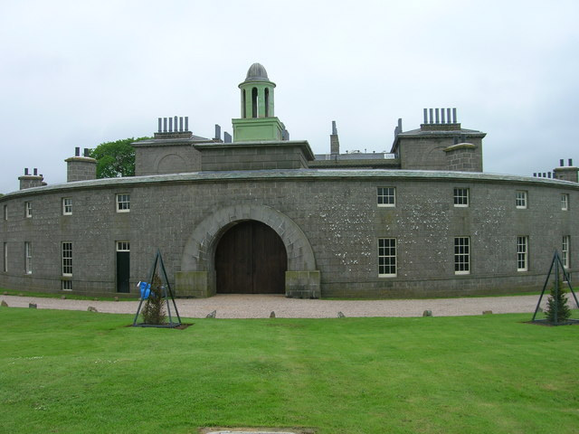 Cairness House, A Rear View