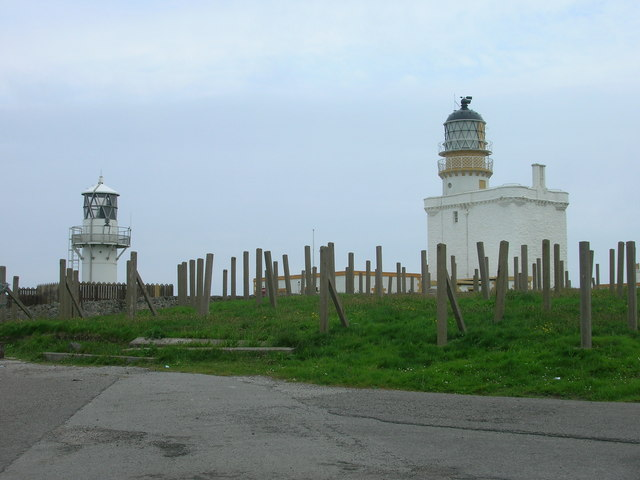 Fraserburgh, New and Old Lighthouses