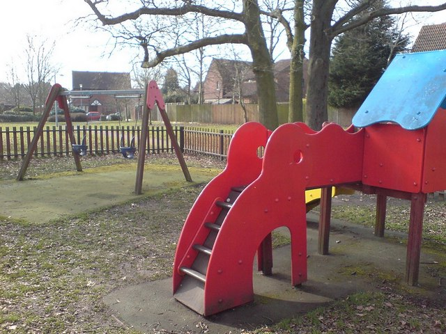 Small playground, Ancells Farm