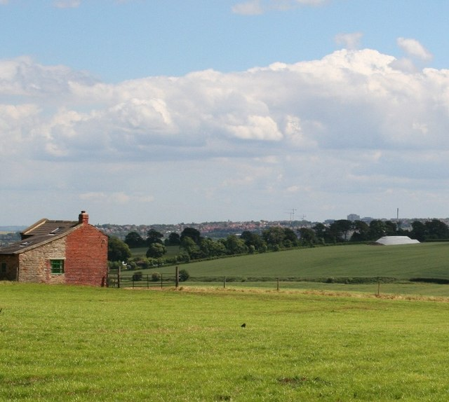 View from Jebb lane over to Barnsley