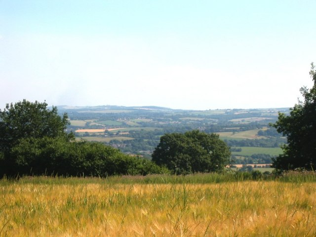 View from High Hoyland over to Grenoside