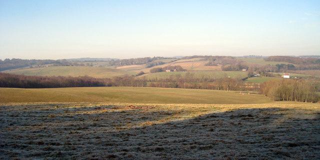 Fields near Park Farm