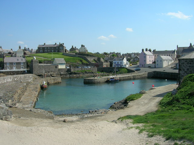 Old Harbour of Portsoy
