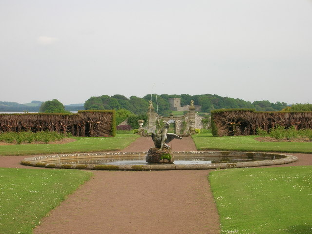 Kinross House Fountain