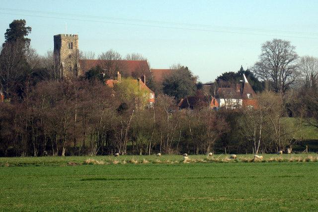 Salehurst Church & Goodgrooms Oast