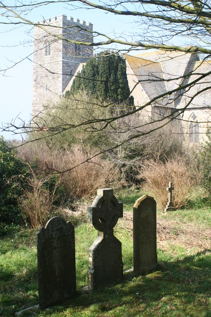 The church of St Peter, Mithian