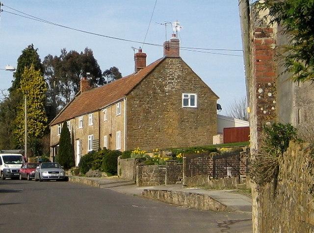 Terraced cottages Shiremoor Hill - Merriott