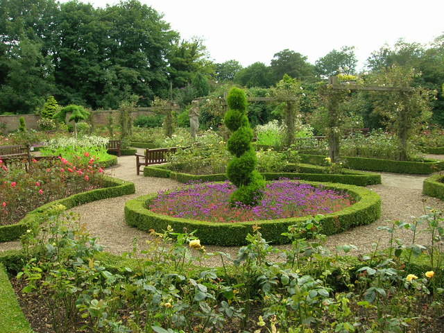 Walled Garden, Sewerby Hall