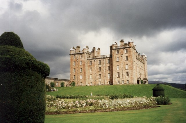 Drumlanrig Castle from the south west