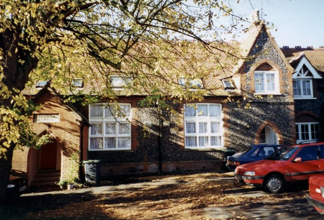 St Dunstans - a former school now converted into flats