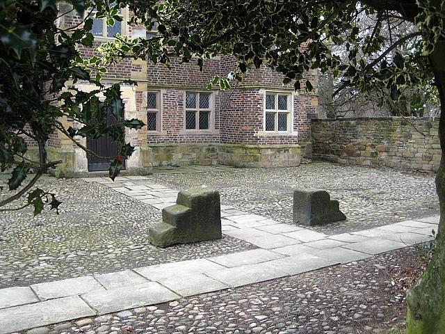 Clarke Hall mounting blocks