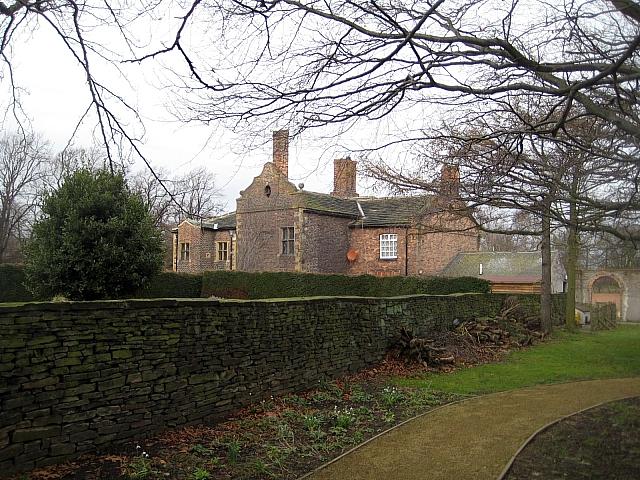 Clarke Hall dry stone wall