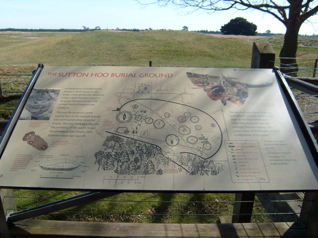 Sutton Hoo Burial Site.