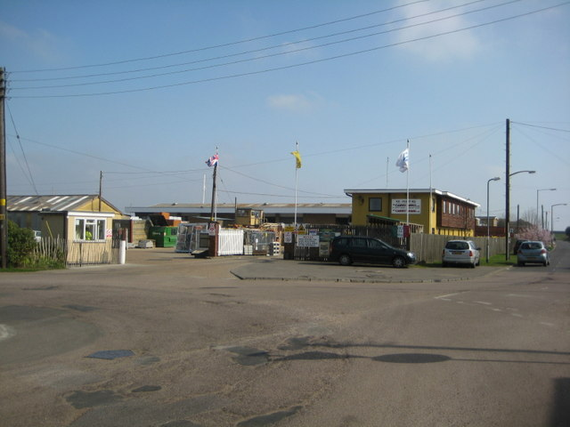 Canvey Supply's depot
