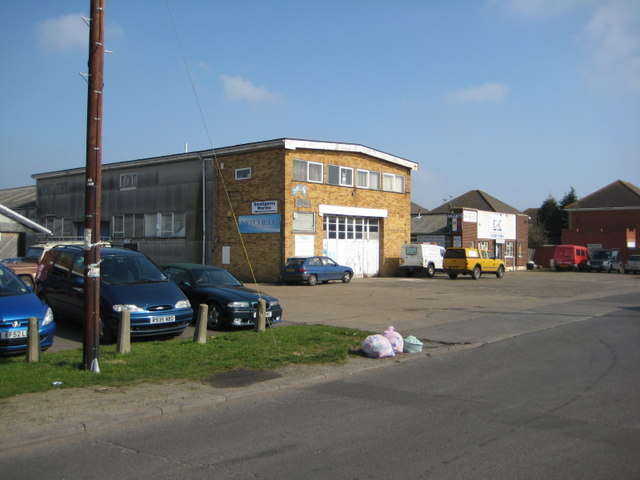 Industrial Units on Point Road