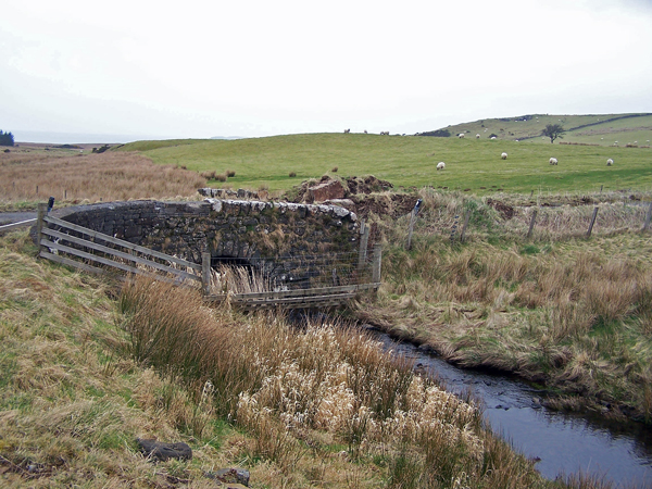 Bridge over unnamed burn