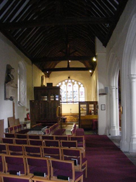 Side Chapel in St.Margaret's Church, Barking