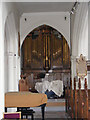TQ4483 : St.Margaret's Church Organ by Adrian Cable