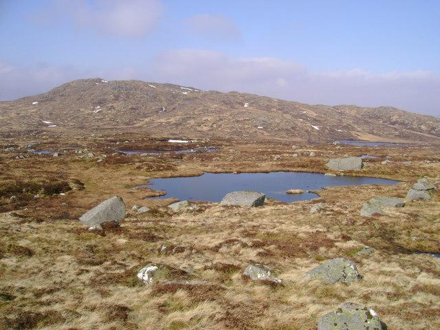 Lochan below Maol Breac